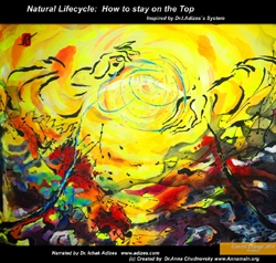'Natural LifeCycle: How to Stay on the Top', 80 x 100 c?, Acryl, ABP